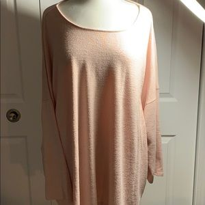 AVA & VIV 4X blush pink sweater. Super soft!!!